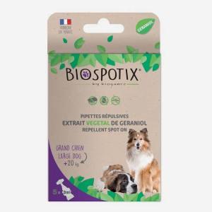 Biospotix pipetter - loppemiddel til store hunde (over 20 kg)
