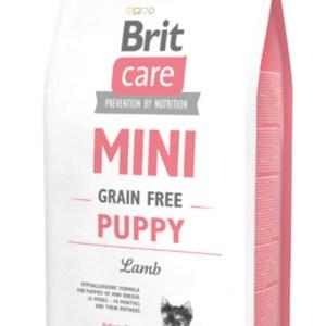 Brit Care Mini - til små racer - Grain Free Puppy Lamb, 2 kg