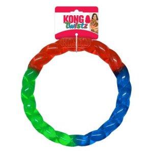 Kong Hundelegetøjs Twistz Ring - 17x2,5cm - Small