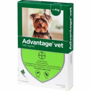 Advantage Vet Hunde Loppemiddel