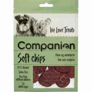 Companion Soft Chips m. Okse & Oksehjerte 80g
