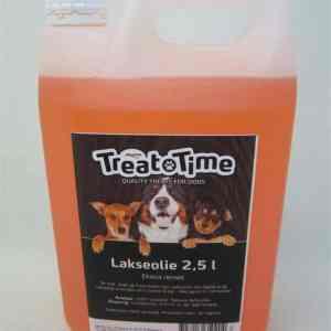 TreatTime Lakseolie - Med Omega 3 & 6 - 2,5liter