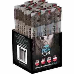 AlphaSpirit Hunde Snack Bløde Stænger Med Fisk - 10g - 1stk