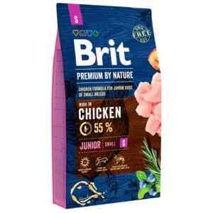 Brit Premium by Nature tørfoder - Junior - Kylling