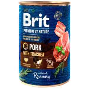 Brit Premium by Nature vådfoder - Gris - 6 stk.