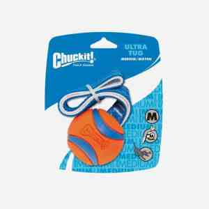 Chuckit Ultra Tug Bold med kasterem