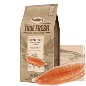 Carnilove True Fresh hundefoder, m/Fisk, 11,4 kg