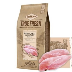 Carnilove True Fresh hundefoder, m/kalkun, 11,4 Kg