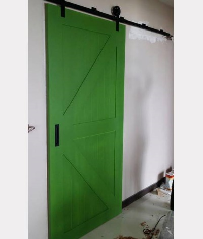Kingdom Barn Door with Roller Track