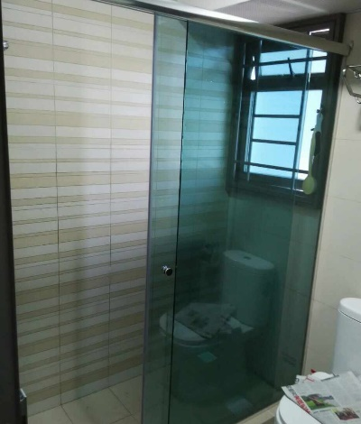 Sliding Glass Shower Screen