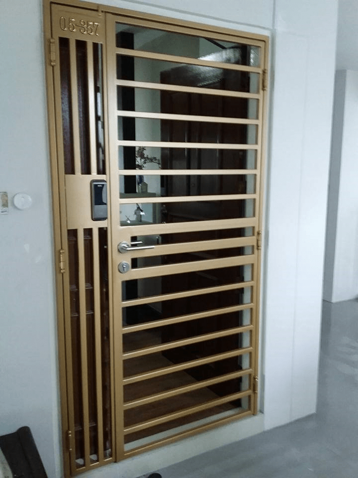 Call 96177025 to buy Thick Simple Line and Mild Steel Gate Singapore sales