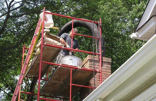 Chimney Rennovation with Firesafe Inc
