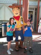 Woody and the kids