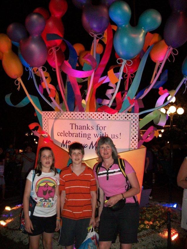 Farewell from Disneyland
