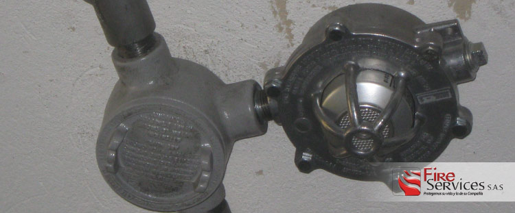 Distribuidores de detectores de llamas y gases contra incendios