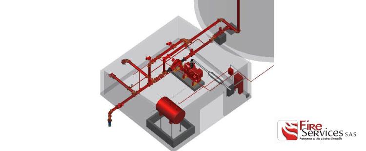 Expertos en diseños de sistemas contra incendio y seguridad