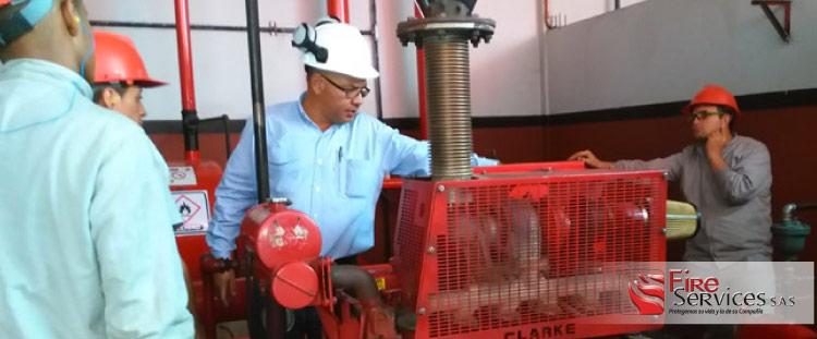 Expertos en inspección de equipos contra incendio Colombia