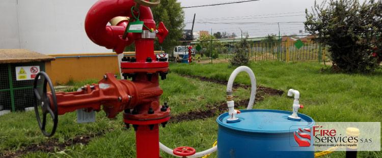 Hidrantes agua-espuma