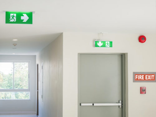 Sistema contra incendios para hospitales