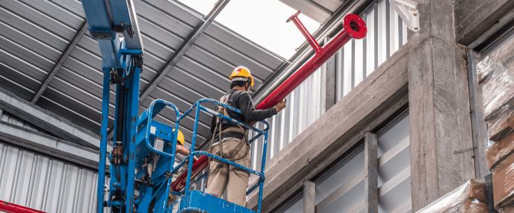 Suministro y montaje de equipos contra incendio