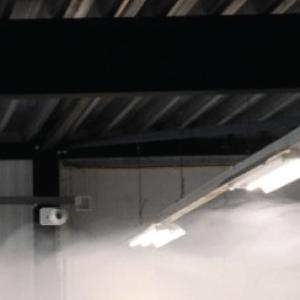Sistema de detección de humo de áreas abiertas