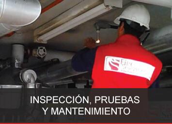 IPM sistemas protección contra incendio