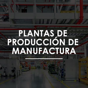 Sistemas contra incendio para plantas de producción de manufactura