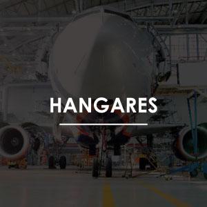Sistemas de protección contra incendio para hangares