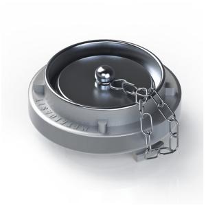 Tampão Cego com Corrente 1.12 Alumínio