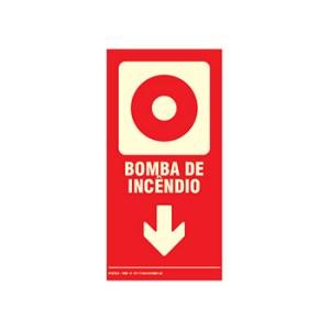 Placa de Sinalização – Bomba de Incêndio