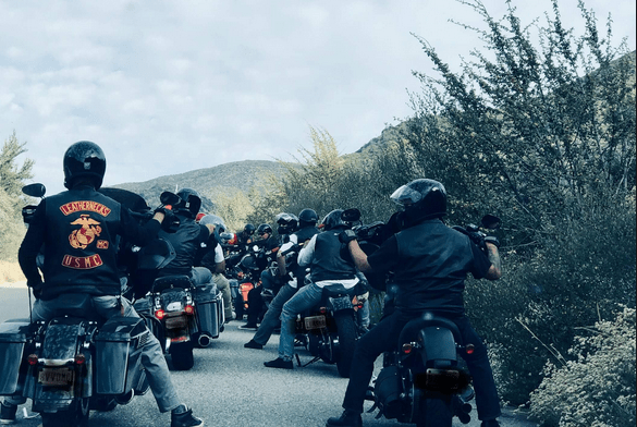 Group Motorcycle Ride