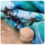 Spindrift Seafoam warp face