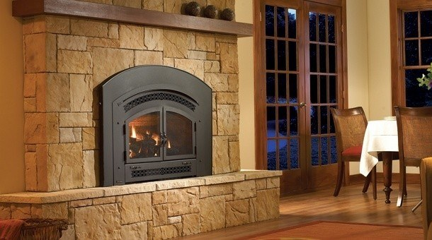 Choose the best fireplace inserts to convert your existing fireplace to a modern. Gas