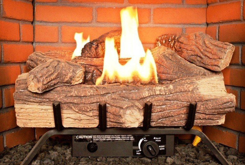 Fine Best Gas Fireplace Logs Reviews 2019 Vent Free And Vented Beutiful Home Inspiration Truamahrainfo