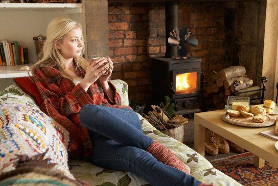 best wood stove fan review