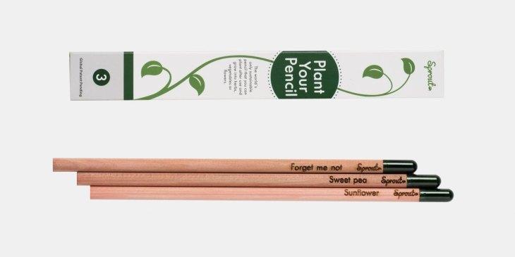 Sprout Pencil, Bleistift, Pflanzen, einpflanzen, Samen, Kräuter, Blumen, Gemüse, Everyday Carry, Einsteiger, Setup