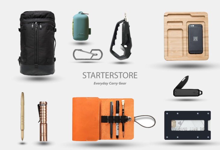 Starterstore Everyday Carry Gear neu