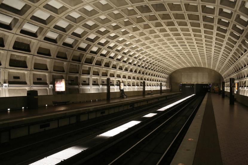 The Pentagon City metro station, where I cried over the injustices I witnessed every day; where people from all walks of life waited impatiently for a ride home, un-fazed by the fact that the man begging outside the pay station had no home at all. Photo by Ian Mackenzie, Flickr.