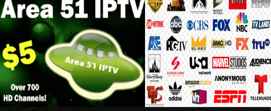 Area 51 IPTV Download For Android and Firestick