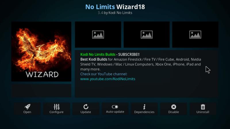 How to Install No Limits Magic Build on Kodi Leia