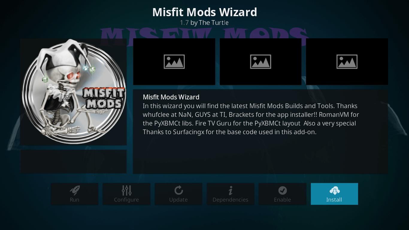 How to Install Misfit Mods Lite Kodi Build on Leia 18 1
