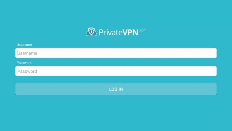 Sign in to PrivateVPN on Firestick
