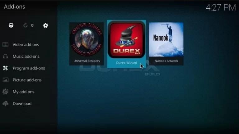 Select Durex Wizard
