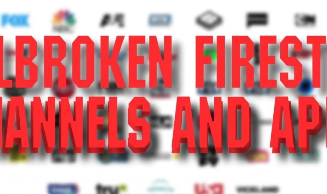 Best Jailbroken Firestick Channels and Apps [2019]