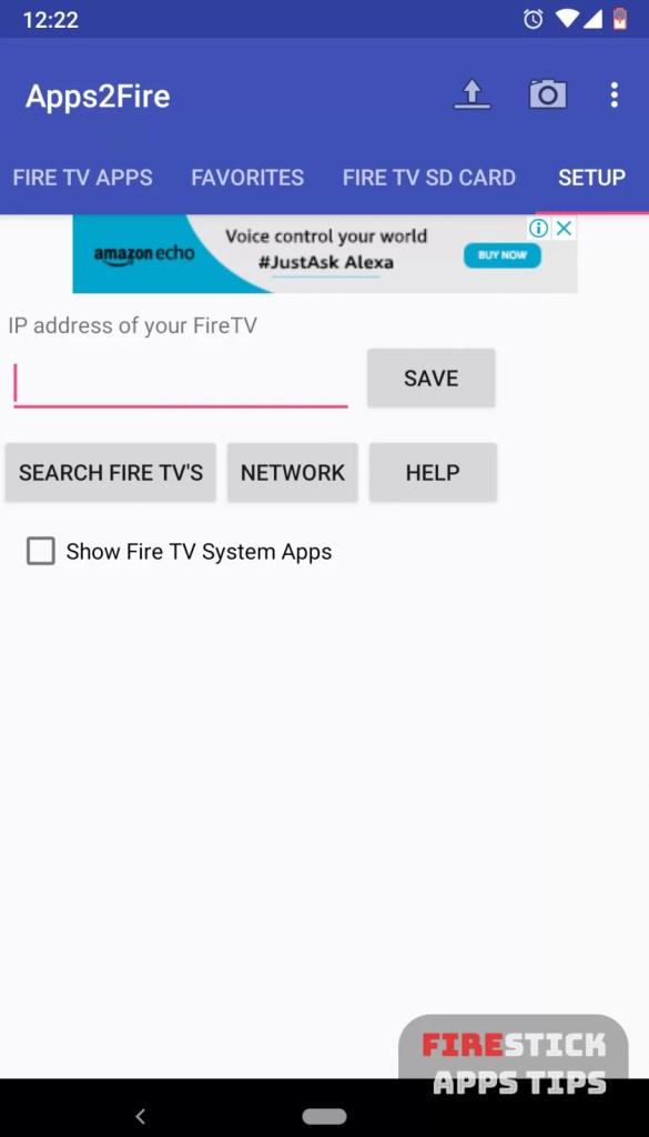 Sideload Apps On Firestick Using Apps2Fire