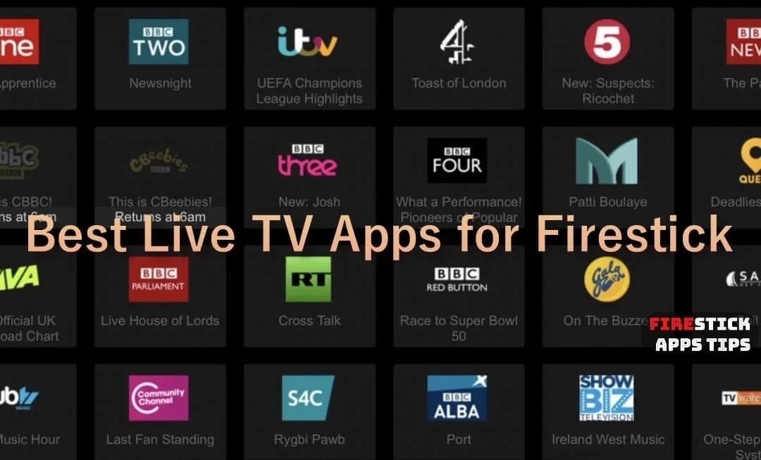 10 Best Live TV Apps for Firestick / Fire TV [2019] You Must Have