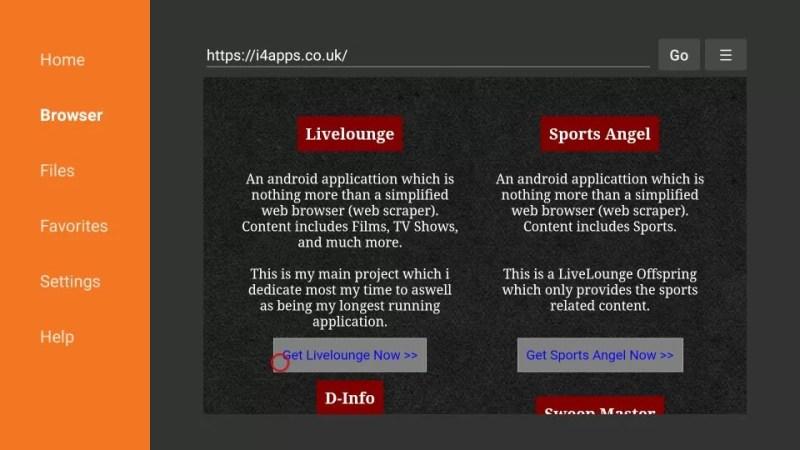live lounge apk firestick