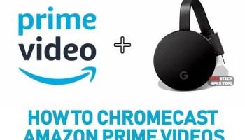 AMAZON PRIME AUF CHROMECAST 2019 - How to Install Google