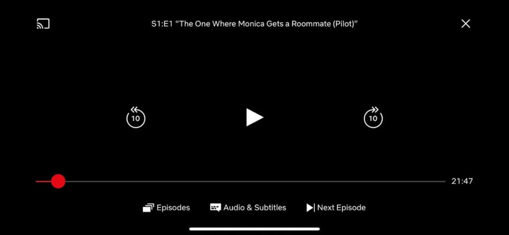 Chromecast Netflix