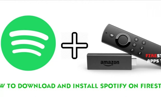 How to Download and Install Spotify on Firestick [2019]